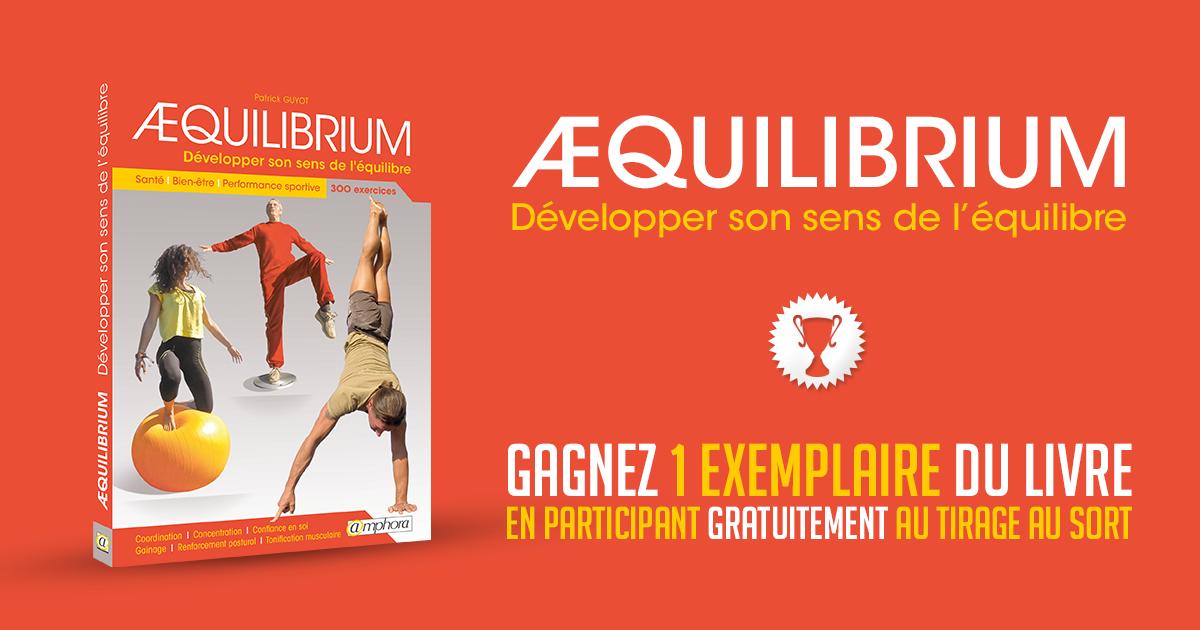 Livre Amphora Aequilibrium - Développer Son Sens De L'équilibre Fitness 2xCOVj