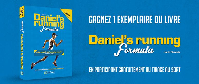 Concours Daniel's Running Formula