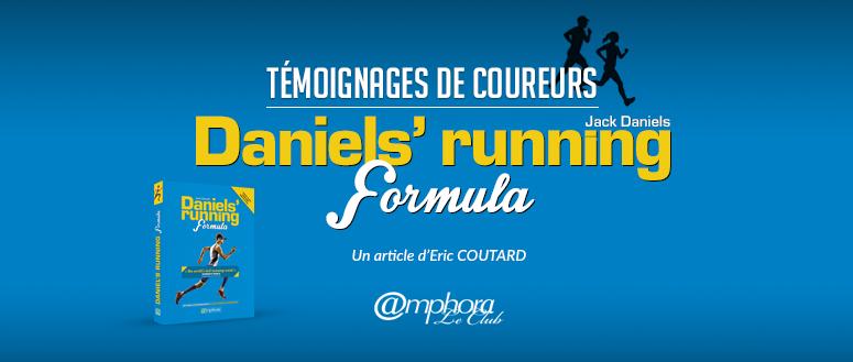 Témoignages Daniels' running formula
