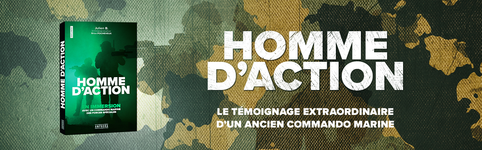 Homme d'action banner