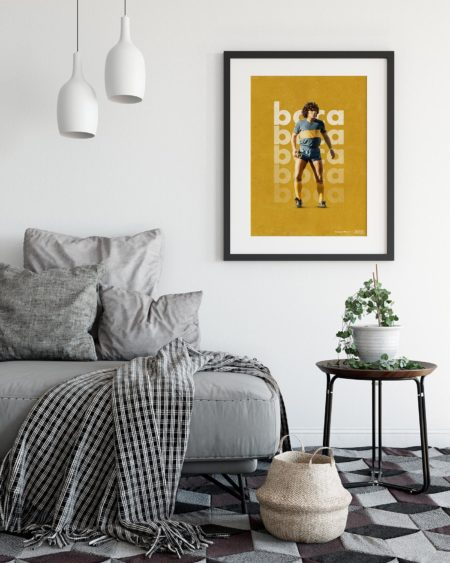 mock up posters in living room interior. Interior scandinavian s